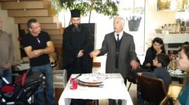 Κοπή πρωτοχρονιάτικης πίτας συλλόγου LEPANTO